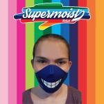 Blue Grin Mask
