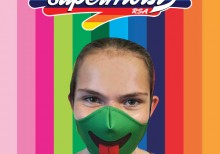 Green Tongue Mask