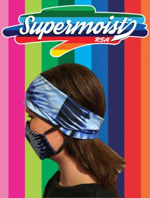 Ladies Headband Mask Side View 2