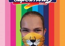 Leopard mask girl