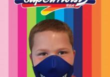 Blue Grin Mask Boy